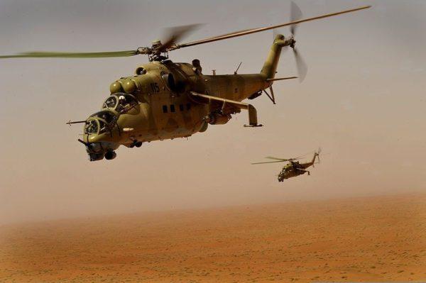 Ми 24 вертолет
