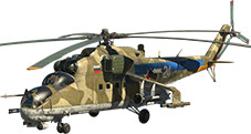Flying «Crocodile» Mi-24 (modification)